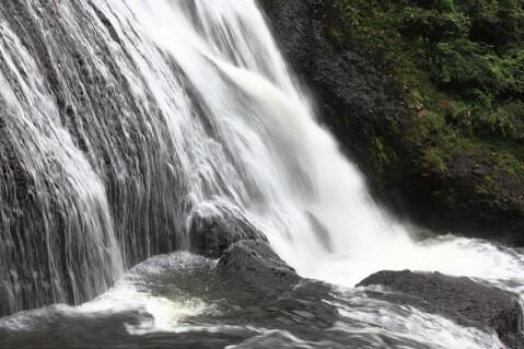 滝袋田の滝壺