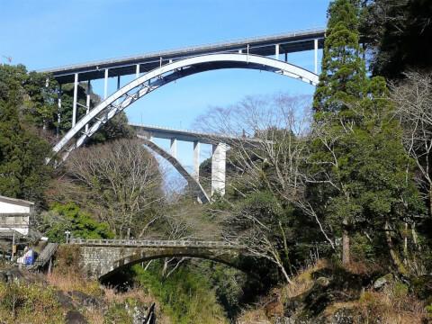 滝真名井の滝三段橋