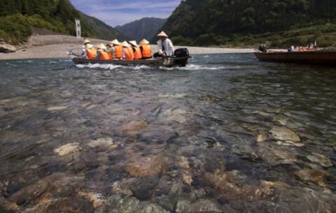 滝那智の大滝熊野川