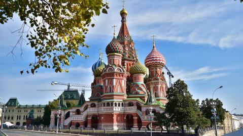 聖ワシリイ大聖堂 Собор Василия Блаженного ロシア 大聖堂