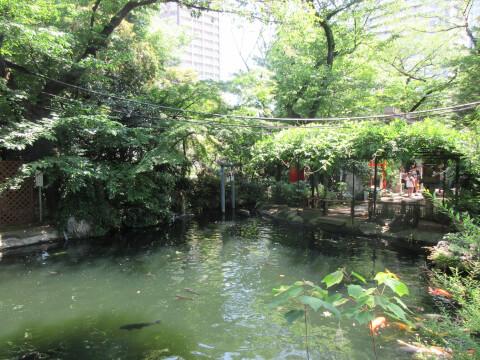 池 愛宕神社