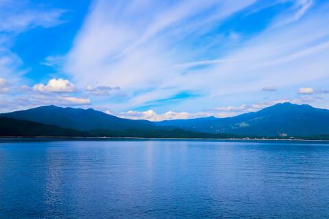 日本 絶景 秋田 田沢湖