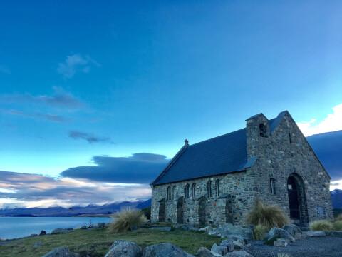 善き羊飼いの教会 ニュージーランド
