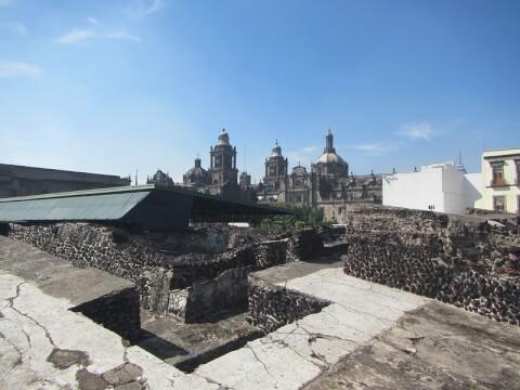 メキシコ メキシコシティ テンプロ・マヨール Templo Mayor