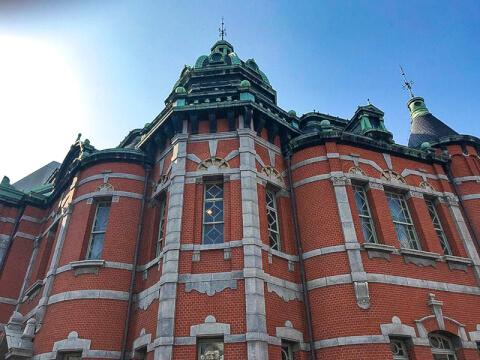 福岡市文学館(赤煉瓦文化館)
