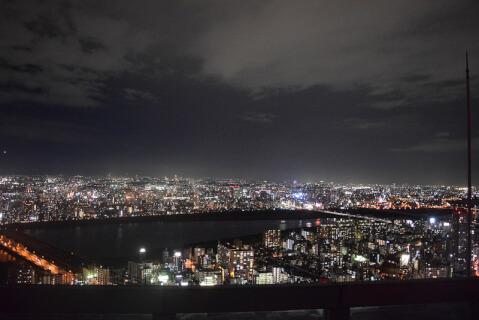 空中展望台夜景