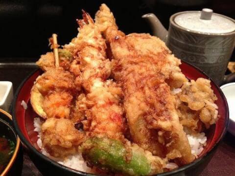 天ぷらひさご-天丼