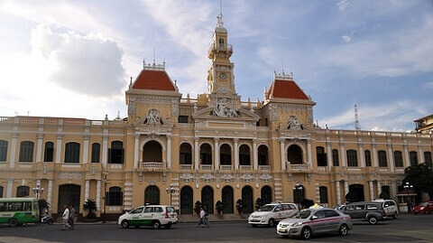 The Ho Chi Minh City People's Committee Hall