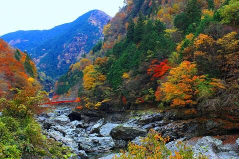 日本 絶景 奈良 みたらい渓谷
