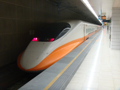 台湾新幹線で高雄へ