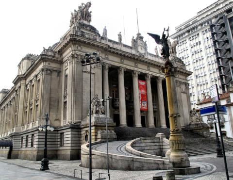tira チラデンチス宮殿 Palacio Tiradentes リオデジャネイロ