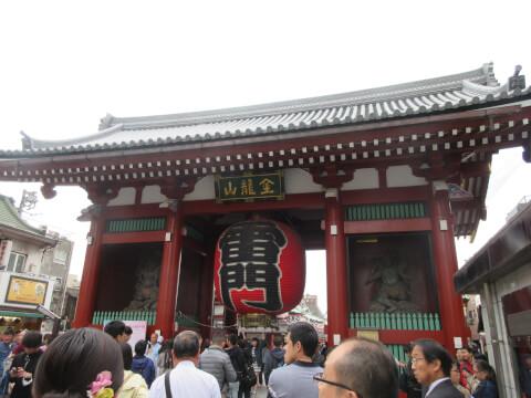 浅草寺 門