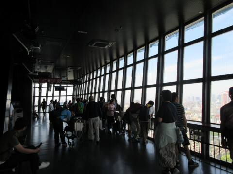 東京タワー 観光 雨