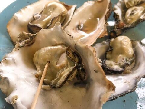 中山牡蠣養殖所