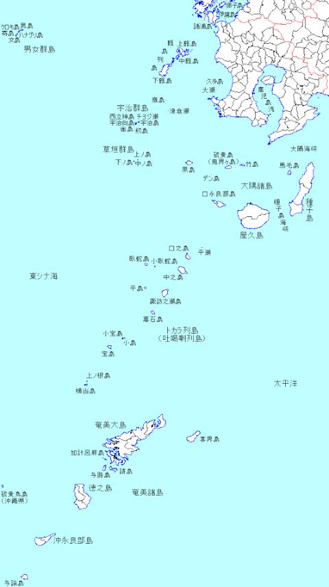 tokara-map