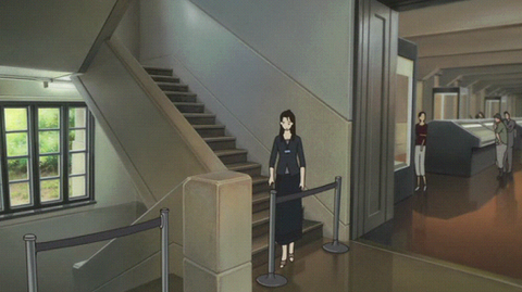 時かけ:東京国立博物館にいる魔女おばさん(アニメ)