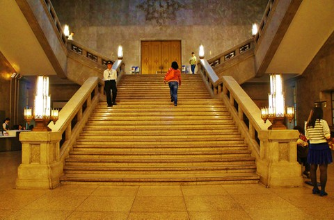 時かけ:東京国立博物館の入口(実写)