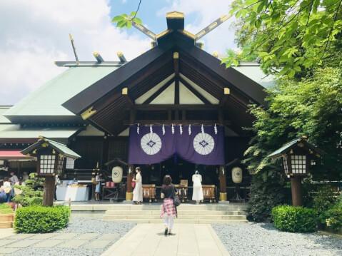 東京大神宮ー境内