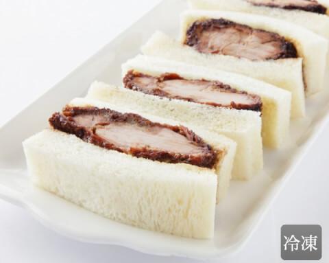 東京八王子名物 ROMAN煮かつサンドヒレ