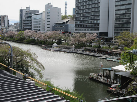 景観 江戸城外堀跡