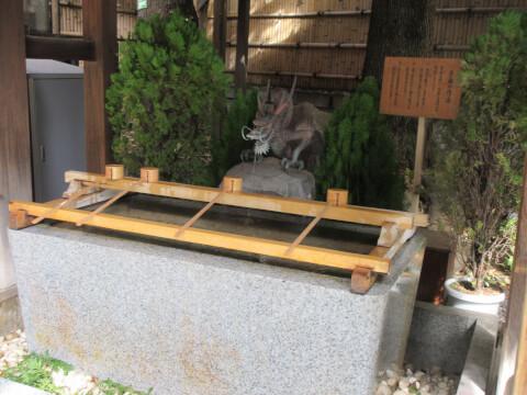 手水舎 東京大神宮