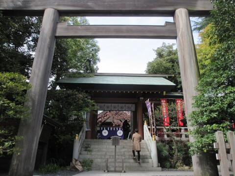 鳥居 東京大神宮