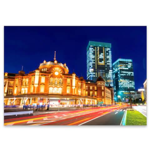 東京駅ポストカード
