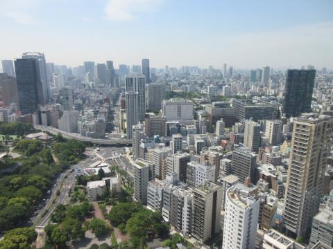 東京タワー 景色