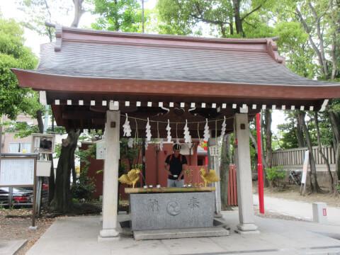 富岡八幡宮 手水