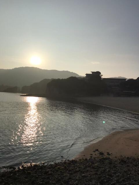 田ノ浦海岸 仙酔島