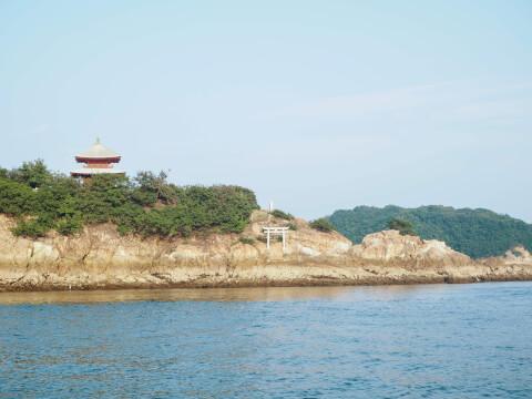 鞆の浦 弁天島