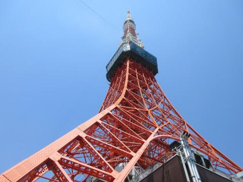 東京タワー 雨の日