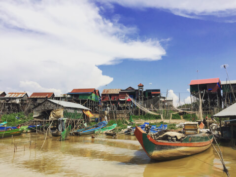 トンレサップ湖 カンボジア