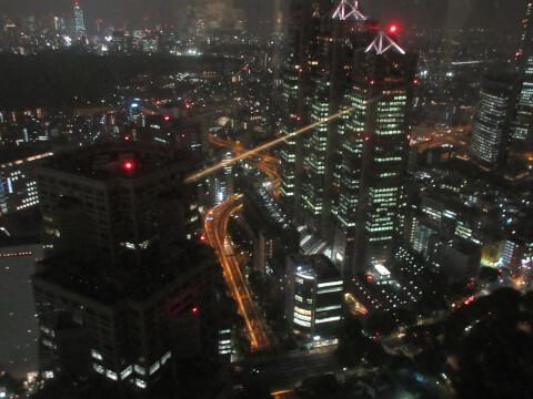 都庁展望台 夜景