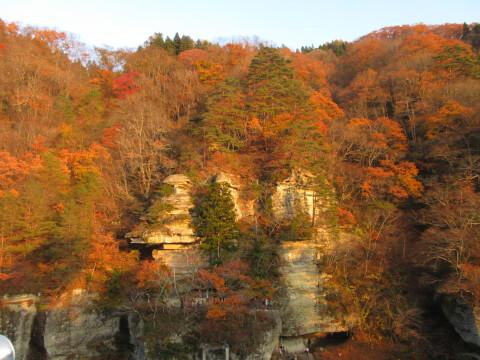 塔のへつり 秋