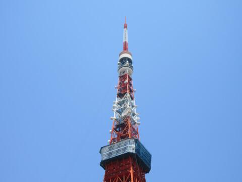 東京タワー てっぺん