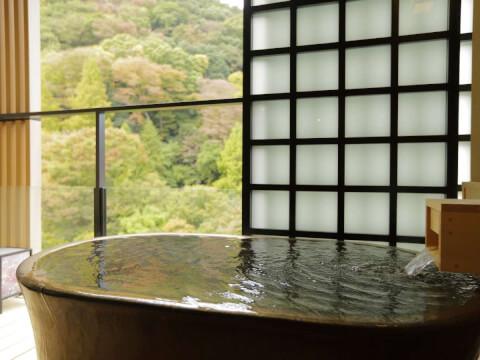 客室付露天風呂