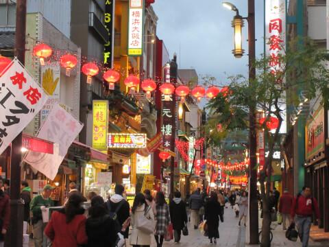 横浜中華街 観光