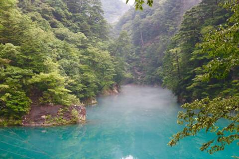 日本 絶景  静岡 寸又峡
