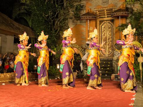 ウブド インドネシア バリ島 バリ舞踏