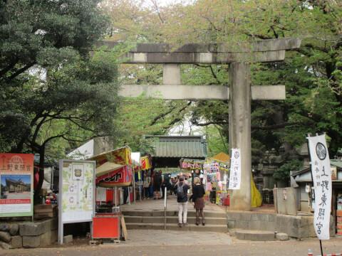 上野東照宮 参道