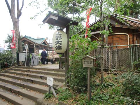 上野大仏 境内