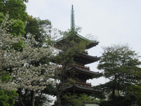 上の公園 五重塔