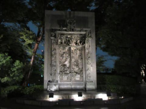 上野 美術館夜景