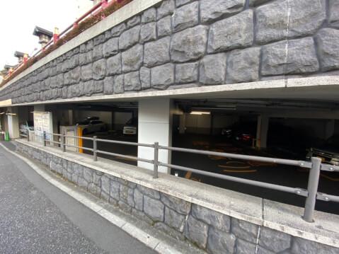 湯島天満宮 駐車場