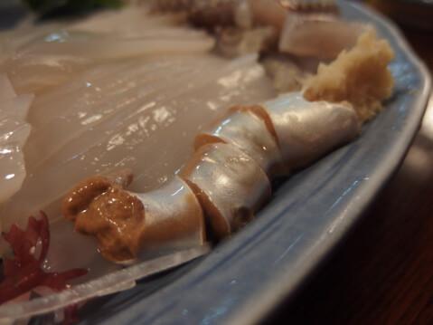 魚一心活イカ