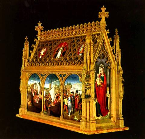 聖ウルスラの聖遺物箱