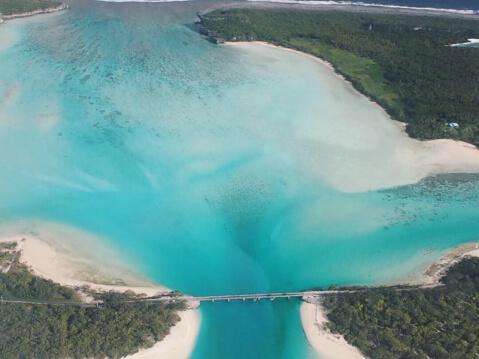 ウベア島 ニューカレドニア 絶景