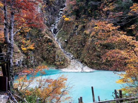 日本 絶景 富山 黒部峡谷