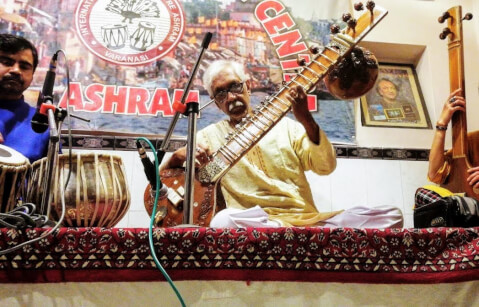 International Music Center Ashram バラナシ インド